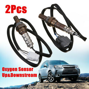 2x-Air-Fuel-Ratio-Oxygen-Sensor-Up-amp-Downstream-for-Forester-2003-2004-2-5L