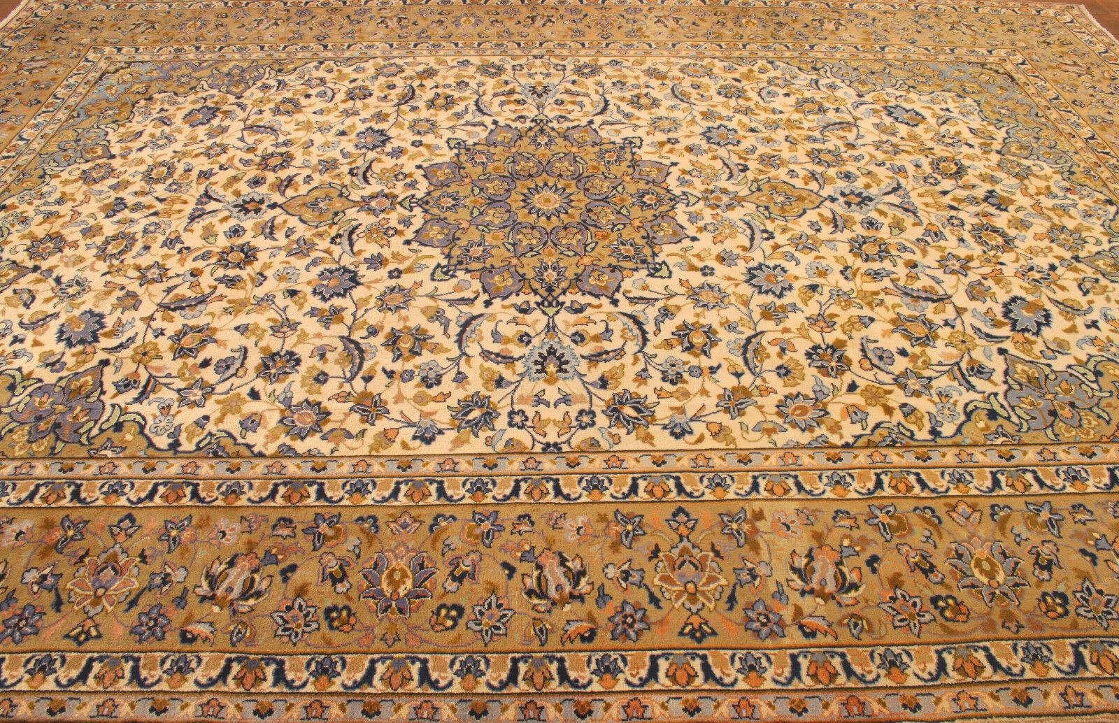 TAPPETO Orientale Vero Annodato Annodato Annodato Tapis persan (410 x 298) cm Ottimo Stato 3516 817aa7