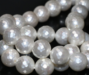 Natural-White-Shell-Pearl-12mm-Faceted-Round-Factory-Price-Loose-Beads-15inch
