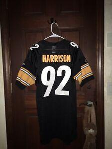 Mens Reebok Sz 50 JAMES HARRISON Steelers NFL Football Jersey ...