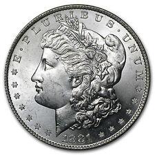 1881-S Morgan Silver Dollar - Brilliant Uncirculated