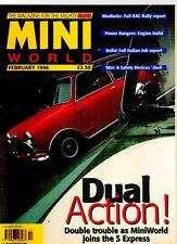 MINI WORLD MAGAZINE - February 1996