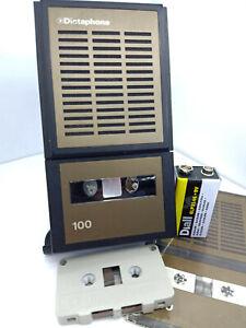 Dictaphone-100-D-100-MiniCassette-Voice-Recorder-Personal-Dictation-Machine