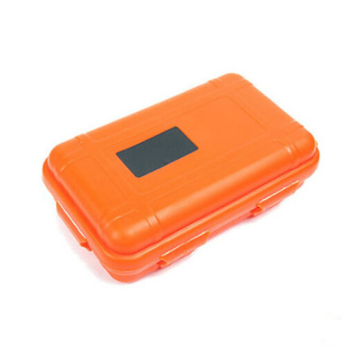 Plastic Outdoor Survival Container Storage Case Carry Box Waterproof Shockproof