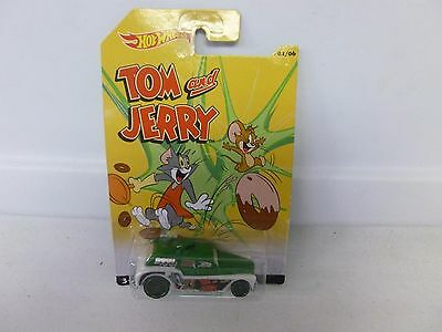 HOT WHEELS TOM AND JERRY EXCLUSIVE SERIES COCKNEY CAB II DIE-CAST MATTEL