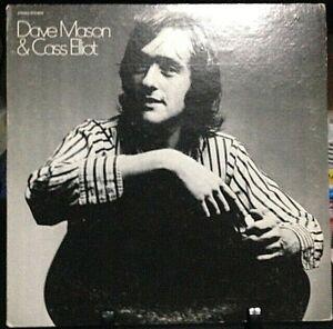DAVE MASON & CASS ELLIOT Album Released 1971 Vinyl/Record Collection US  pressed
