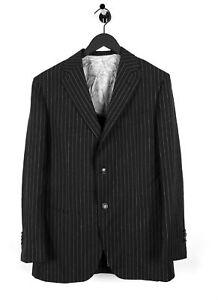 120's foncé Jacket Super 48r Suitsupply Rayé Pure Wool Blazer Bleu x4Cwnq1a