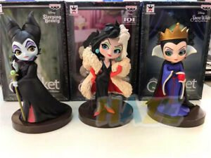 3pcs-Maleficent-Snow-White-Queen-Q-Ver-7cm-PVC-Action-Figure-Toy-Model-Present