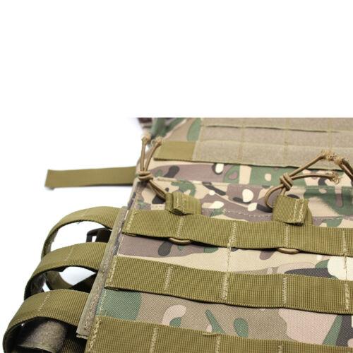 Wargame Weste Combat Tactical Körperschutz Plattenträger für Paintball Airsoft