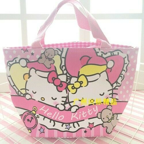 Sumikko Gurashi my melody PU keep warm handbag lunch bag zip storage bags new
