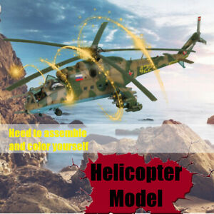 1-48-Hind-F-Mi-24D-Hind-D-Scale-Static-Aircraft-Series-Helicopter-Plane-Model