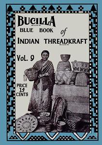 Bear-Brand-amp-Bucilla-9-c-1917-Vintage-Patterns-Crochet-Native-American-Baskets