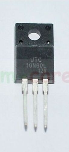 600V TO-220F -/> 10N60L EQUIVALENT N-Channel MOSFET 10A 1 or 2pcs h2 10N60LV