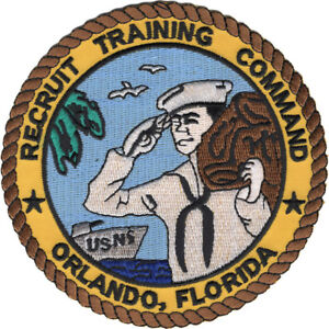US-NAVY-NAVAL-TRAINING-CENTER-NTC-ORLANDO-PATCH-BOOT-CAMP-BASIC-PIN-UP-SON-WOW