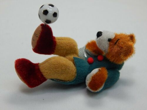"World of Miniature Bears 3/"" Cashmere Bear Little Kiko #1068 Closing"