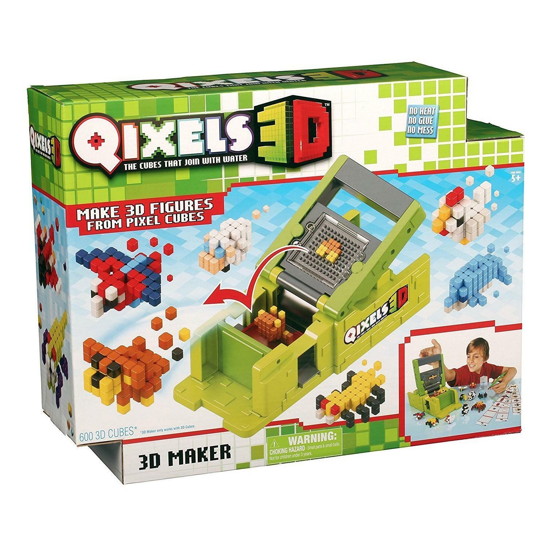 Qixels 3D MAKER (incl 600x 3D Cubes)