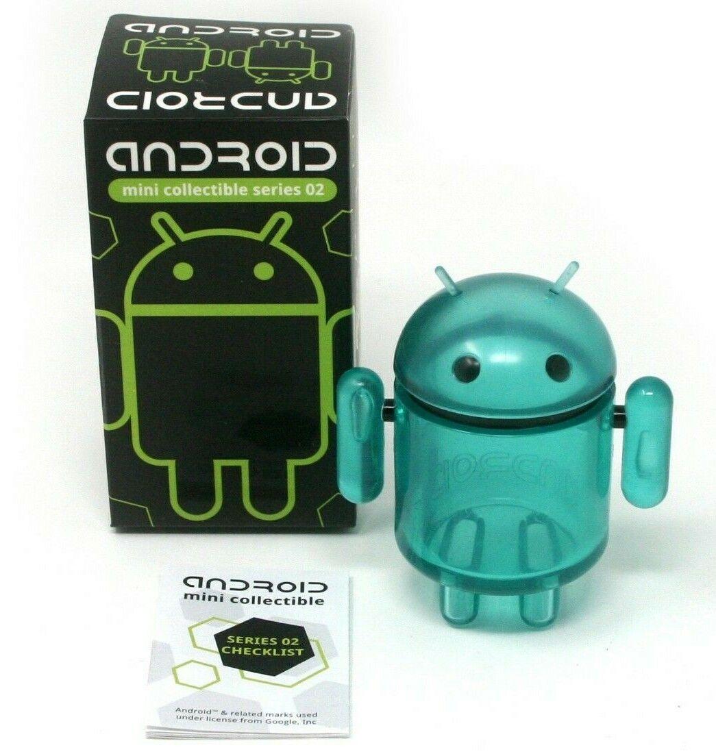Ultra Raro Chase Google Android Mini Figura Serie 2 Cian por Andrew Bell 02