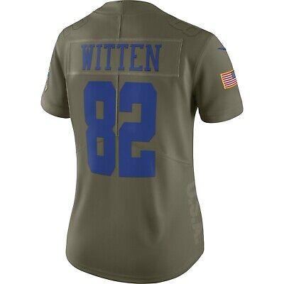 Dallas Cowboys Jason Witten Women's Nike Salute to Service Limited Jersey | eBay