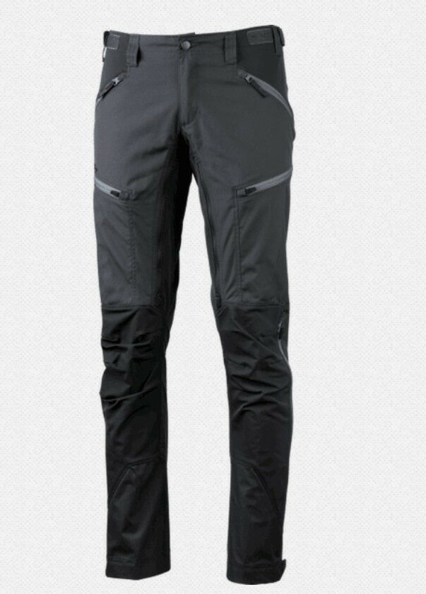 Lundhags Makke Pant Men, Granite - Charcoal, Elastic Men's Trekking Trousers
