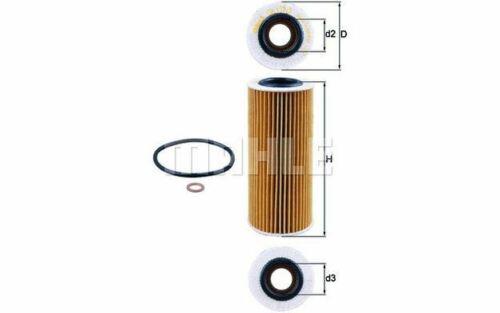 KNECHT Filtre à huile pour BMW Série 5 X5 3 X3 6 7 OX 177//3D Mister Auto