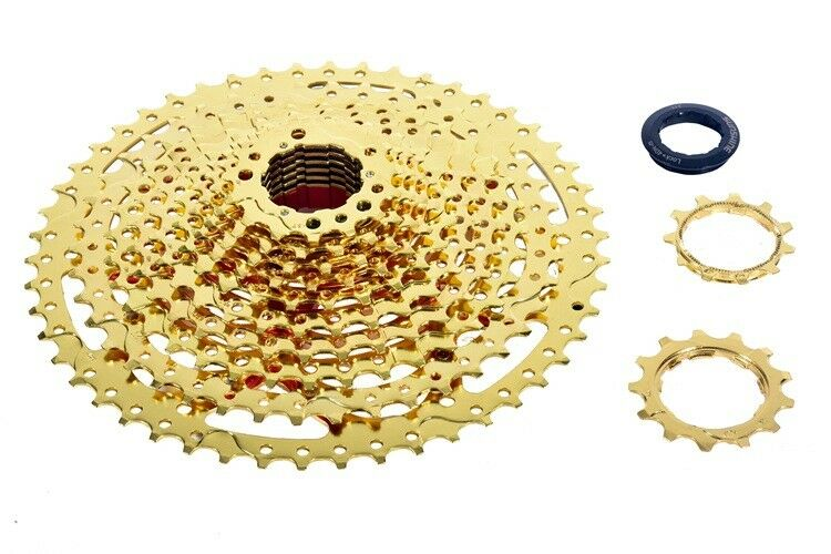 MTB 12 Speed 11-50T Cassette  Mountain Bike Freewheel Bicycle Flywheel gold 680g  credit guarantee