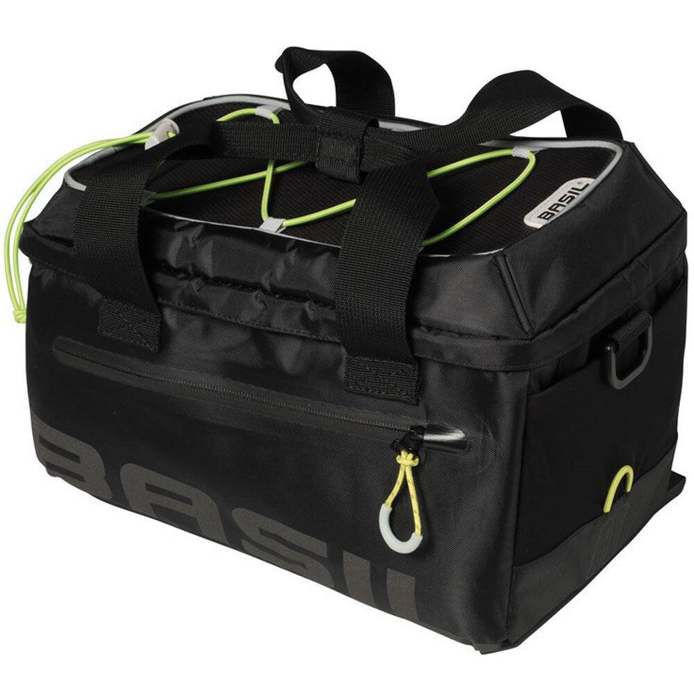Basil bolsa portaequipaje Basil miles impermeable 7 LTR. negro Lime bicicleta