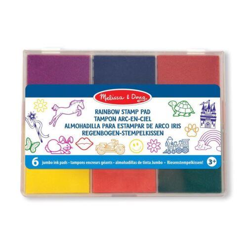 Melissa & Doug Rainbow Spare Stamp Pad Childrens Craft Art 3+