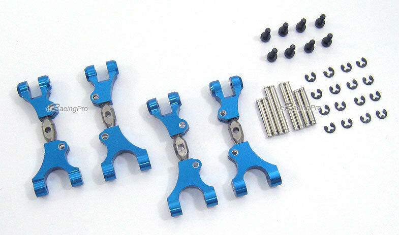 Alloy Front+Rear Upper Arms for for for Hot Bodies Minizilla 987f56