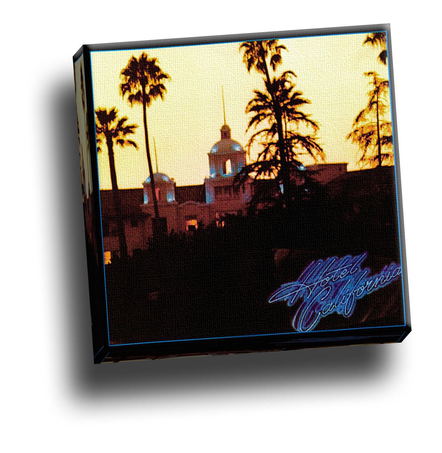 Las águilas-Hotel California Arte álbum álbum álbum De Fotos De Lona Giclee 32fc6f