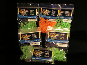 SOFT-LUMO-BEADS-Oval-amp-Streamlined-Glow-in-the-dark-attractant-FREE-POSTAGE