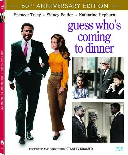 Guess Who's Coming to Dinner (DigiBook, 50th Anniversary Edition) BLU-RAY NEW
