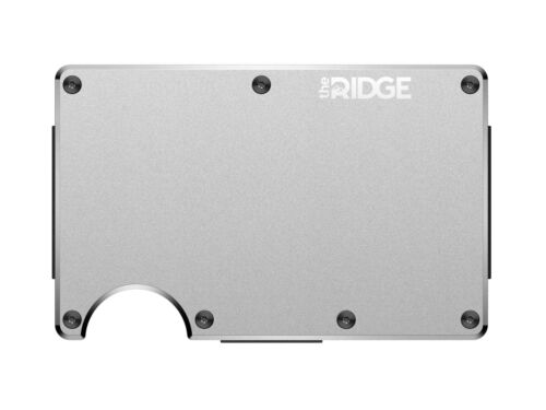 Ridge Raw Wallet Strap The Aluminium Cash Pq8fwd