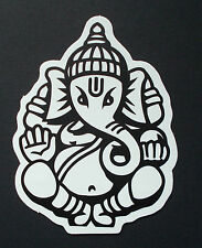 "Sticker Aufkleber Matt-Optik ""Ganesha"" Laptop, Notebook, Stickerbomb ..."