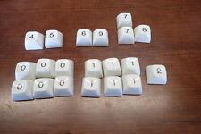 Ibm Selectric Typewriter Parts Keyboard Number Keys Assorted Lot You Get 20 Keys