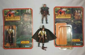 1991-3-Figure-Lot-Robin-Hood-Prince-of-Thieves-Crossbow-Kenner-Kevin-Costner