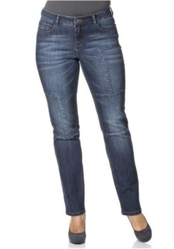 Sheego - Jeans Kurzgrösse 22 dark Blau Blau Blau Versandhaus NEU | Reparieren  | Neuer Eintrag  | Der Schatz des Kindes, unser Glück  | Genialität  908165