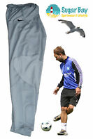 Nike Tapered Drifit Stretch Football Rugby Training Trouser Bottoms Grey Medium
