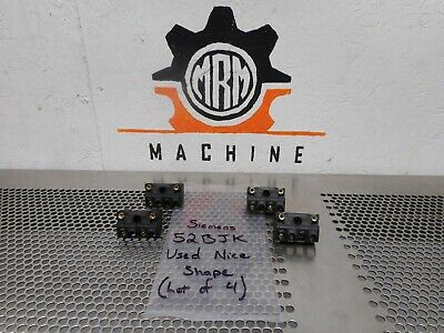 Siemens 3RH1911-1GA22 *E04* Auxiliary Contact Blocks Used With Warranty Lot of 5