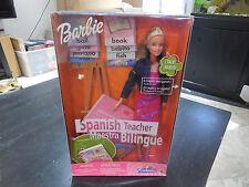 NEW MATTEL Barbie SPANISH TEACHER Talks Toys R Us Excl 2000 Figure Doll 29408