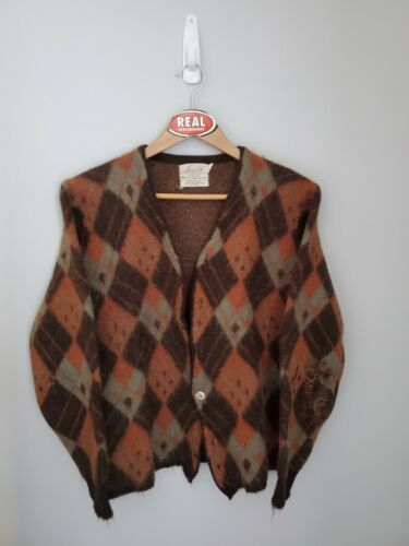 Vintage Jersild Mohair Cardigan Cobain Sweater Gru
