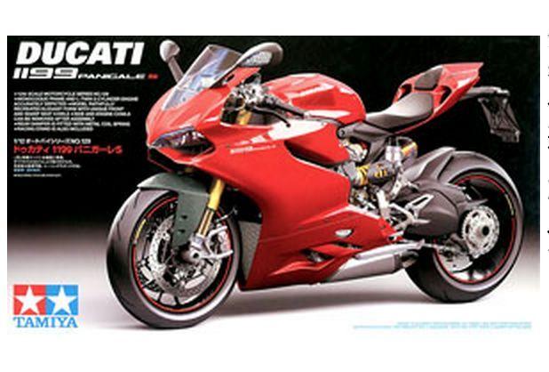 Tamiya Ducati 1199 Panigale S 1 12 Motorcycle Model kit 300014129