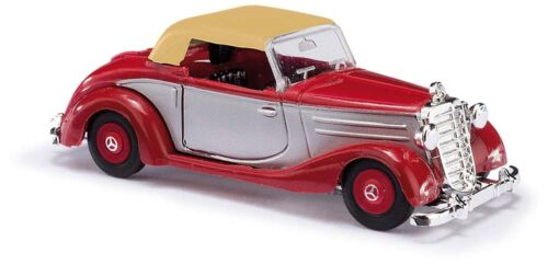 rojo #neu en OVP # dos colores Busch 40528 pista h0 MB 170s cabrio geschl.