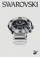 Prospekt Swarowski 2010 Relojes 2011 Uhrenkatalog Damenuhr Herrenuhr Uhr span.