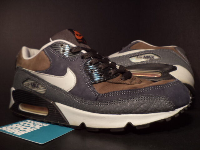 2004 90 Nike Air Max 90 2004 Premium SAFARI SABLE OLIVE VERDE GREY BLU 308856-201 9.5 e3e010
