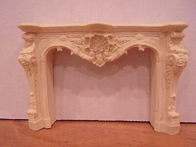 DOLLHOUSE MINIATURE FIREPLACE MANTLE PAINTABLE /& STAINABLE!!