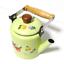 thumbnail 8 - Green-enamelware-pot-camping-coffee-Tea-Kettle-Vintage-enamel-cookware