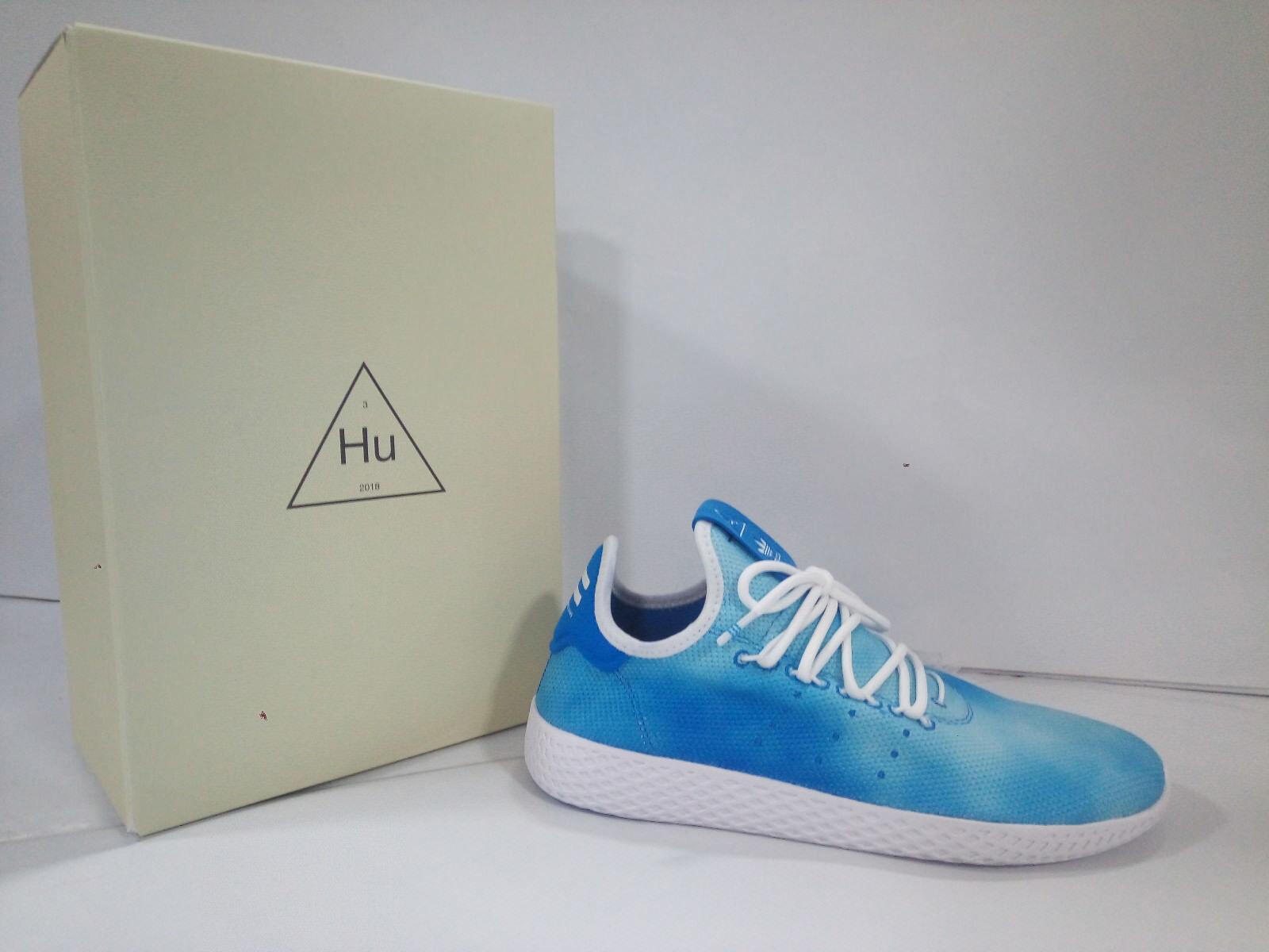 Zapatos  Adidas hombre  Pharrell Williams Azzurro Hu Holi Tennis  Azzurro Williams Bianco  DA9618 44a848
