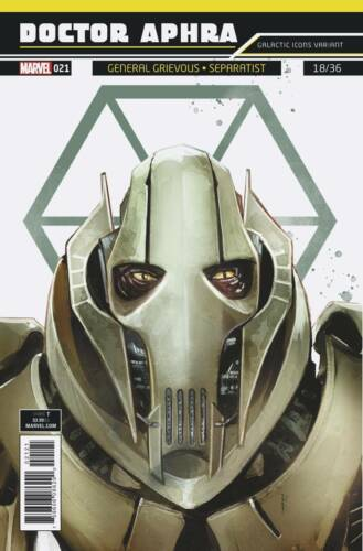 Star Wars Doctor Aphra #21 Galactic Icon Variant Marvel Comics 1st Print 06//27