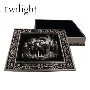 Twilight Pewter Jewellery Box Bella Swan and the Cullens eBay