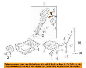 vw volkswagen oem 04 07 touareg engine parts oil cooler gasket rh ebay ie VR6 Engine Diagram VW 1.8 Engine Diagram